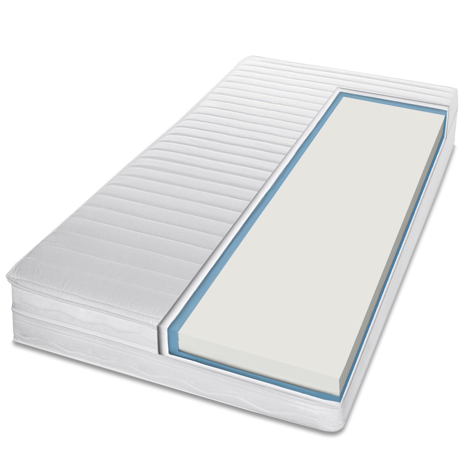 7 zonen wellness dream kaltschaum komfort matratze 7. Black Bedroom Furniture Sets. Home Design Ideas
